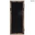 Distressed Door Wood Wall Mirror