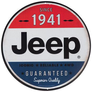 Jeep Metal Sign