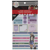 Fashion Happy Planner Stickers, Sticky Notes & Cardstock