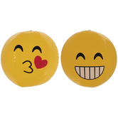 Smile & Kiss Emoji Beach Balls