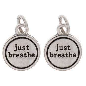 Just Breathe Charms
