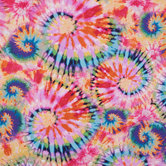 Tie Dye Duck Cloth Fabric