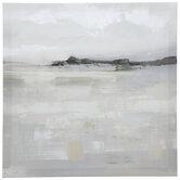 Gray Abstract Canvas Wall Decor