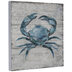 Blue Crab Wood Wall Decor