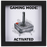 Gaming Mode Activated Wood Wall Decor