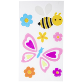 Bee & Butterfly Gel Window Clings