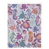 "Sea Creatures Scrapbook Paper - 8 1/2"" x 11"""