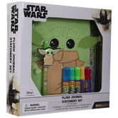 Baby Yoda Plush Journal Stationery Kit