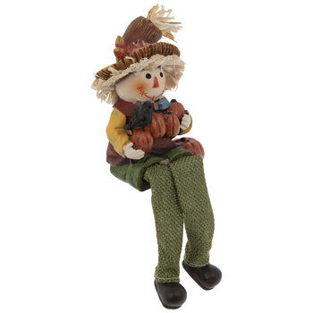 Green Scarecrow Shelf Sitter