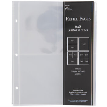 """Album Refill Pages - 6"""" x 8"""""""