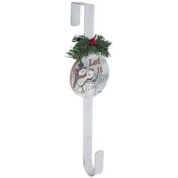Let It Snow Wreath Hanger