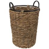 Round Water Hyacinth Basket