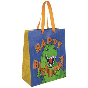 Happy Birthday T-Rex Gift Bag