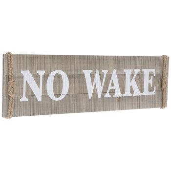 No Wake Plank Wood Wall Decor