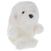 White Baby Seal Plush