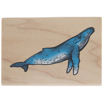 Whale Rubber Stamp
