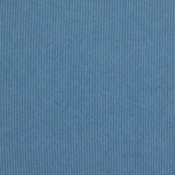 Light Wash Railroad Stripe Denim Fabric