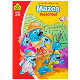 Mazes Preschool Workbook