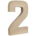 Paper Mache Number 2 - 8