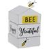 Bee Words Rotating Wood Decor