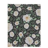 "Cream Floral Scrapbook Paper - 8 1/2"" x 11"""
