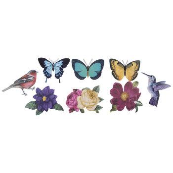 Birds, Bugs & Blooms Stickers