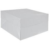 White Oversized Square Gift Box
