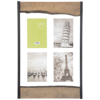 Rough Edge Float Wood Collage Wall Frame