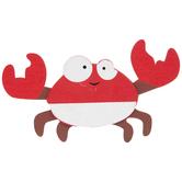Crab Painted Wood Shape