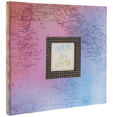"Uncharted Scrapbook Album Kit - 12"" x 12"""