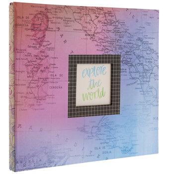 """Uncharted Scrapbook Album Kit - 12"""" x 12"""""""
