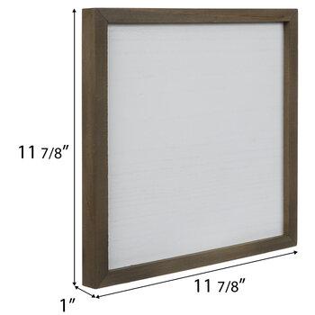 Whitewash Blank Sign Wood Wall Decor