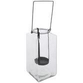 Rectangle Glass Jar Lantern