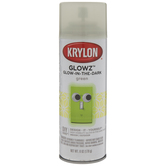 Green Krylon Glowz Glow-In-The-Dark Spray Paint