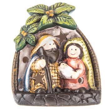 Holy Family Lighted Decor
