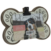 "Dog Bone Wood Clip Frame - 5"" x 3 1/2"""