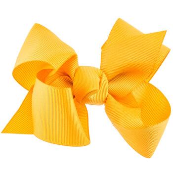 Dandelion Grosgrain Bow Hair Clip