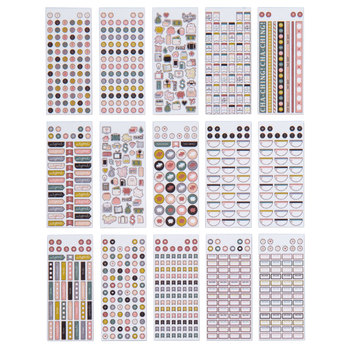 Home Planning Payday Foiled Stickers