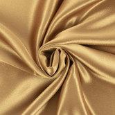 Antique Gold Crepe Back Satin Fabric