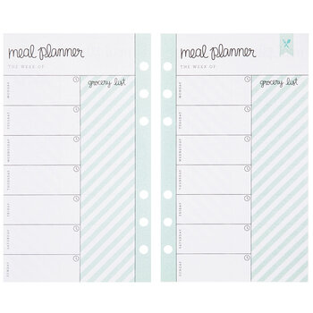 Vertical Meal Planner Inserts