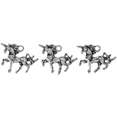Metal Mini Unicorn Charms