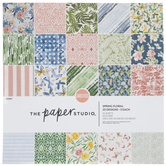 "Spring Floral Paper Pack - 12"" x 12"""