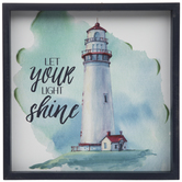 Let Your Light Shine Wood Wall Decor
