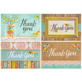 Rustic Whimsy Thank You Cards