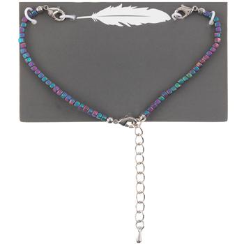 Rainbow Plated Hematite Connector Bracelet