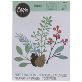 Sizzix Thinlits Winter Woodlands Dies