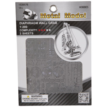 Diaphragm Wall Grab Metal Model Kit