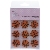 Basketball Icing Decorations