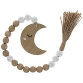 Sleeping Moon Beaded Garland