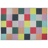 Multi-Color Checkered Rug
